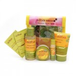 Alba Botanica Home Spa Kit and Coconut Lip Balm