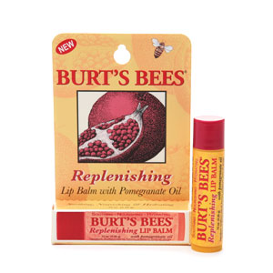 burt's bees pomegranate lip balm review