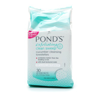 Ponds Exfoliating Clean Sweep Cleansing Towelettes
