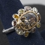 Diamond Right Hand Ring Auction for Skin Cancer Charity