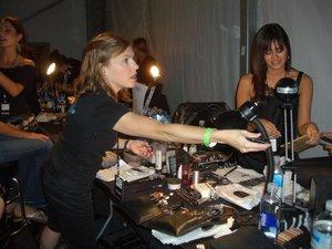 MAC Cosmetics Artists at Work