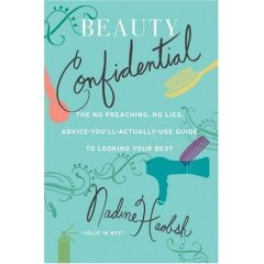 Beauty Confidential Nadine Haobsh Book