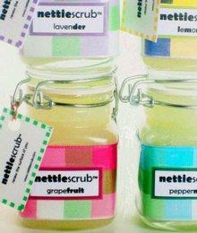 Nettiescrub sugar body polish scrub grapefruit
