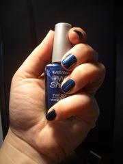 Wet n Wild Nail Lacquer Polish Sapphire Blue