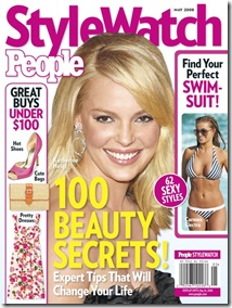 People Style Watch May 08 Cover Katherine Heigl Carmen Electra