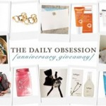 Incredible Giveaway at The Daily Obsession