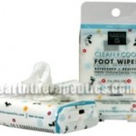 Earth Therapeutics Clean and Cool Foot Wipes