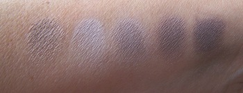 Mineral Makeup Skin Swatches