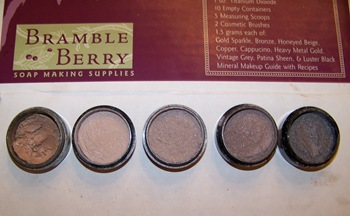 Bramble Berry mineral eye shadow