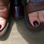 Moving into Fall with Deep Purple Nails