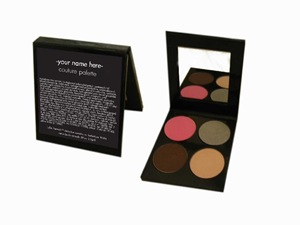 Julie Hewett Cosmetics Custom Palette
