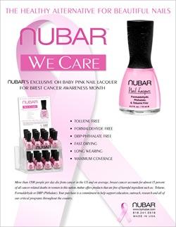 Nubar nail polish pink