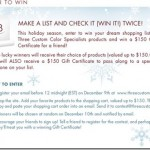 Three Custom Color Specialists Holiday Contest