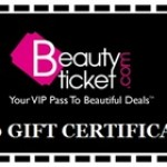 Contest! Win a $50 Gift Certificate to BeautyTicket.com!