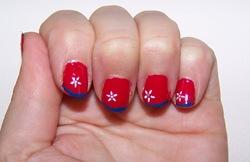 Nail Polish For Fourth of July