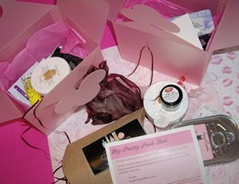 My Pretty Pink Box Cosmetic Samples