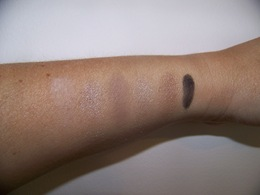 Bobbi Brown Nude Eye Palette swatches