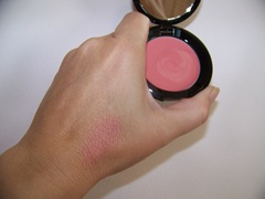 Philosophy feel warm all over blush swatch