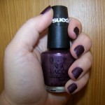 OPI Suede Nail Polish Lincoln Park After Dark
