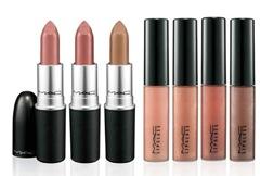 mac warm and cozy lipstick lipglass
