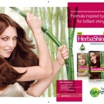 Get Your Shine On With Garnier HerbaShine Haircolour