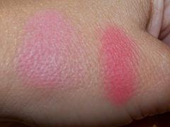 MAC Evil Queen Beauty Powder Swatch Blush Swatch