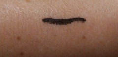 MAc Penultimate eye liner swatch