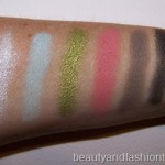 MAC Fashion Flower Swatches
