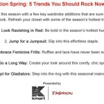 Five Trends You Should Rock Now!