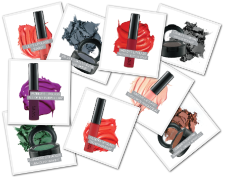 MAC Bloggers' Obsessions Collection Swatches