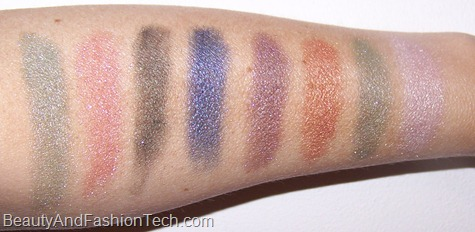 MAC Semi-Precious Eye Shadow Swatches