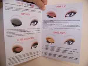 True Blood Eye Shadow Kit Instructions