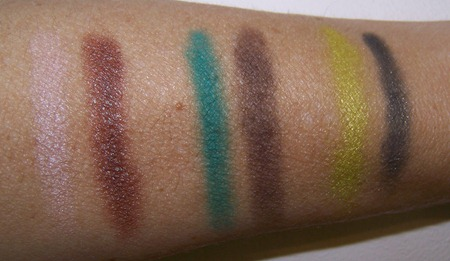 MAC Colourizations swatches