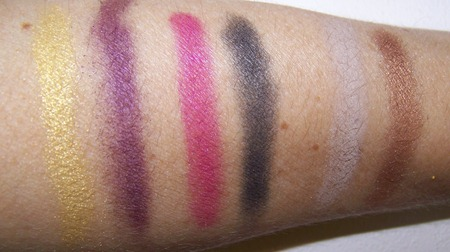 MAc Colorizations swatches