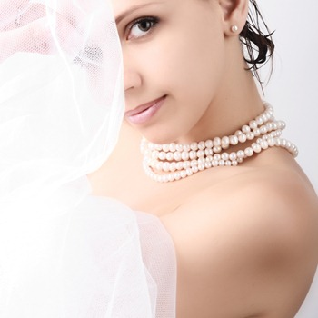 wedding and pearls