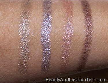 MAC Me Over Shade Stick Swatches