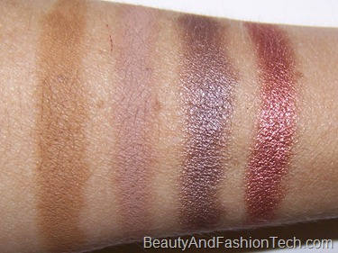 MAC Me Over Eye Shadow Swatches