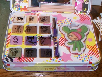 tokidoki eyeshadow kit