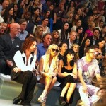 Lindsay Lohan, Fashion Week, Cynthia Rowley, and Band-Aids