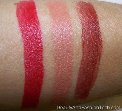 MAC Posh Paradise Lipstick Swatches