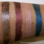 MAC Posh Paradise Swatches