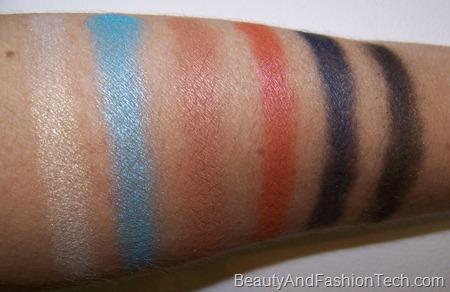 MAC Styledriven eyeshadow Swatches