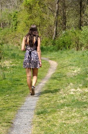 walking a path