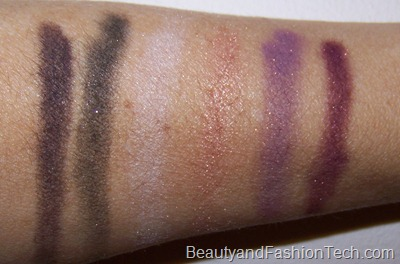 MAC Holiday 2011 Swatches