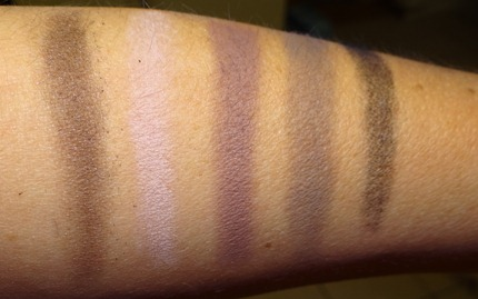 MAC Daphne Guiness Swatches