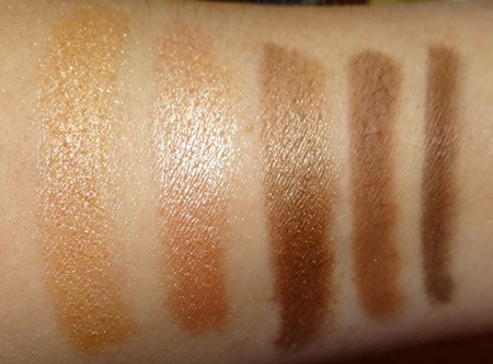 LORAC Unzipped Palette Swatches