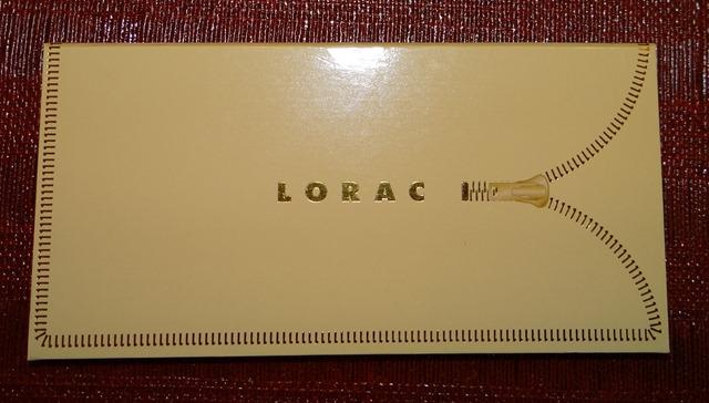 LORAC Unzipped