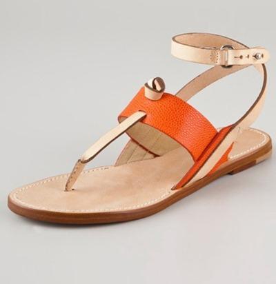 Rag and Bone Tangerine Sandal