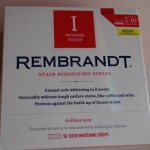 Rembrandt Intense Stain Dissolving Strips Review