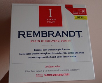rembrandt stain dissolving strips review